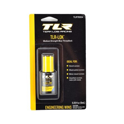 TLR TLR-LOK Threadlocker (Blue) (6mL) (TLR76004)