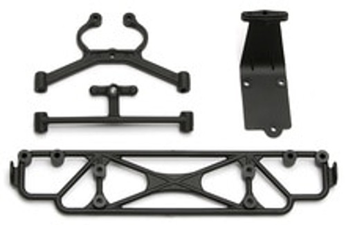 TEAM ASSOCIATED SC18 REAR BUMPER/SKID (ASC21348)