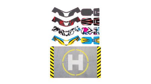 UPGRADE RC FAZE Skins Set Three w/Helipad (4 skins) (UPG7605)