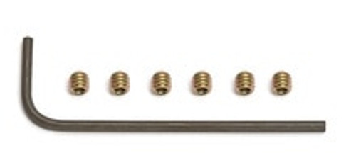 TEAM ASSOCIATED 5-40 X1/8 SET SCREW WITH WRENCH (ASC3862)