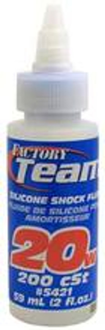 Team Associated Silicone Shock Oil (2oz) (20wt) (ASC5421)