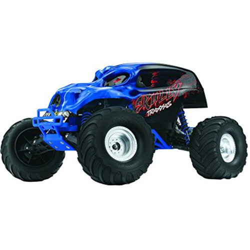 """TRAXXAS """"Skully"""" 1/10 RTR Monster Truck w/XL-5 ESC, TQ 2.4GHz Radio, iD Battery & DC Charger"""