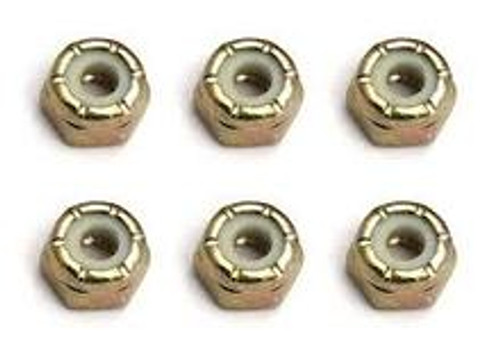 TEAM  ASSOCIATED DIFFERENTIAL ADJUSTING NUTS (6)