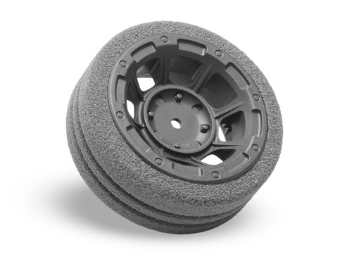 JCONCEPTS M12/MT4 Hazard Radio Wheel w/Dirt-Tech Foam Grip