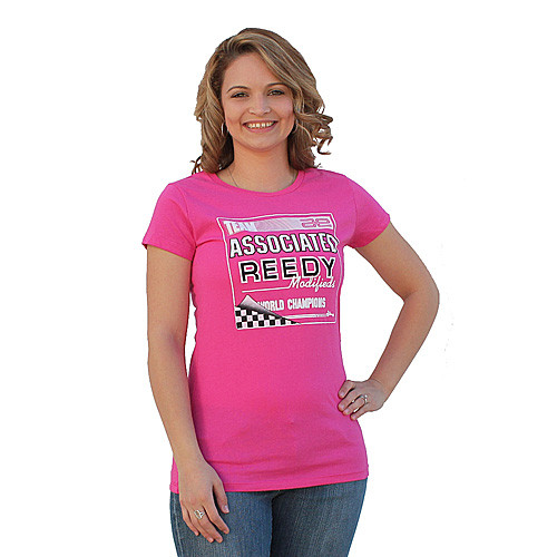 TEAM ASSOCIATED AE Women's Retro Pink - Large (ASCSP96L)