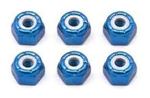 FACTORY TEAM ALUMINUM LOCKNUTS 8-32 (6) (ASC6943)