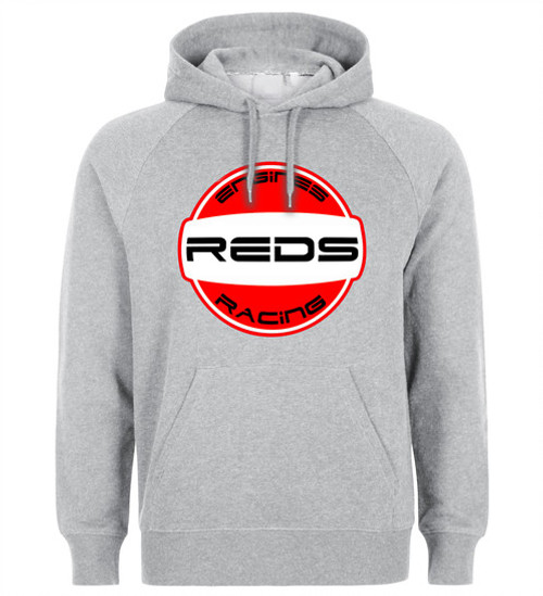 REDS RACING Racing Hoodie- GRAY - 2nd Collection - Medium (APRL0007M)