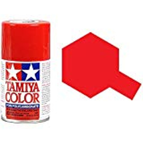 TAMIYA PS-2 Red Lexan Spray Paint (3oz) (TAM86002)