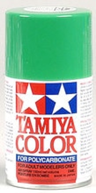 TAMIYA PS-25 Bright Green Lexan Spray Paint (3oz) (TAM86025)