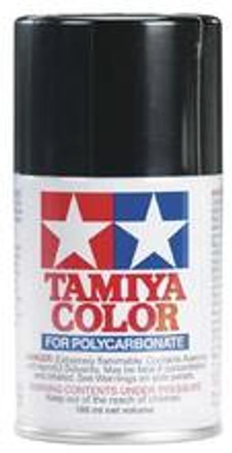 TAMIYA PS-5 Black Lexan Spray Paint (3oz) (TAM86005)