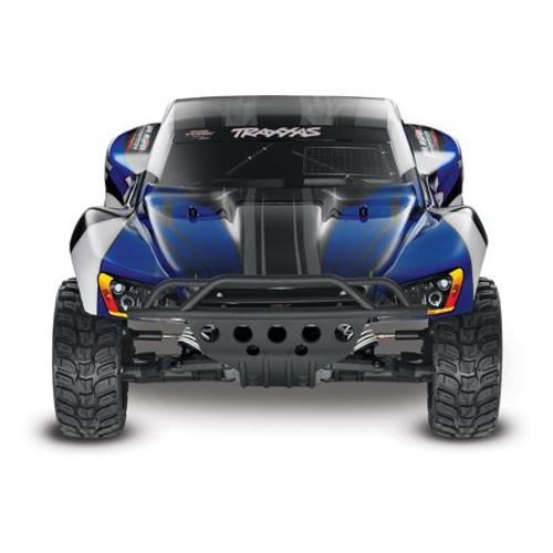 TRAXXAS Slash 1/10 RTR Electric 2WD Short Course Truck w/TQ 2.4GHz Radio System - Blue
