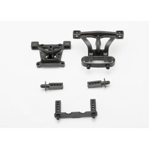 Traxxas Front & Rear Body Mounts w/Mount Posts (TRA7015)