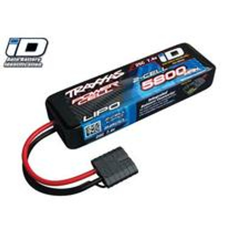 "Traxxas 2S ""Power Cell"" 25C LiPo Battery w/iD Traxxas Connector (7.4V/5800mAh) (TRA2843X)"