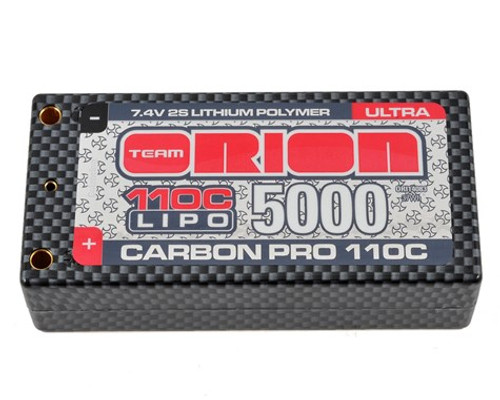 Carbon Pro Ultra 7.4V 5000 Shorty, 25mm, 5mm Tubes (ORI14083)