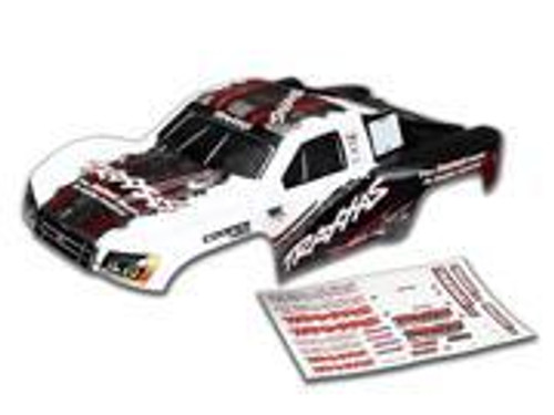 Traxxas Body, Slash 4X4, white (2014 paint) (painted, decals applied) (TRA6848)