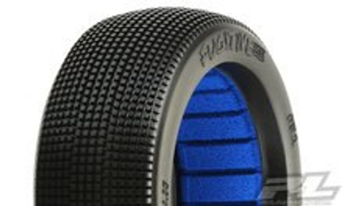 Pro-Line Fugitive Lite 1/8 Buggy Tires w/Closed Cell Inserts (2) (M4) (PRO9058-03)