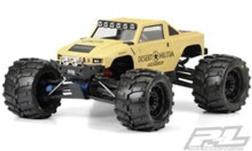 Pro-Line Desert Militia Monster Truck Body (Clear) (PRO3401-00)