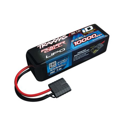"Traxxas 2S ""Power Cell"" 25C LiPo Battery w/iD Traxxas Connector (7.4V/10,000mAh) (TRA2854X)"