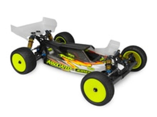"JConcepts B6/B6D ""S2"" Body w/6.5"" Aero Wing (Clear) (JCI0314)"