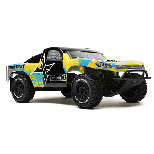 ECX Torment 1/10 RTR 2WD Electric Short Course Truck (Black/Yellow) w/STX2 2.4GHz Radio, Battery & Charger