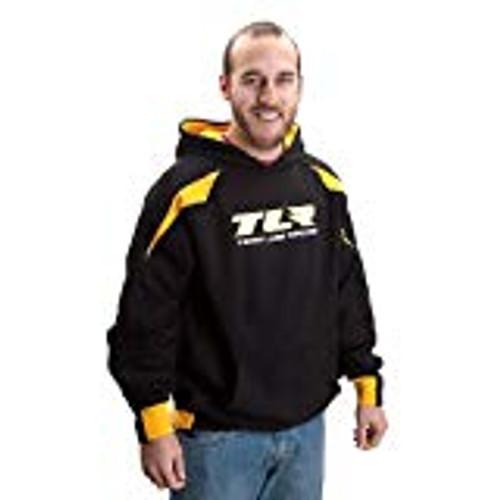 """Team Losi Racing  """"TLR"""" Hoodie (Black) (Large)"""