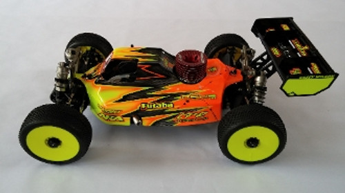 Leadfinger Racing Assassin body (clear) for the TLR 4.0 nitro buggy (LFR100003N)