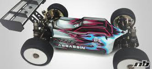Leadfinger Racing Assassin body (clear) for TLRe 4.0 buggy (LFR100003E4)