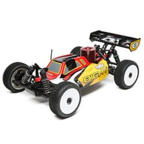 Losi 8IGHT Nitro 1/8 4WD RTR Buggy w/DX2E Radio (LOS04010)