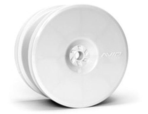 "Avid RC 12mm Hex Satellite 2.2"" Rear Buggy Wheels (White) (2) (B6/22/RB6/ZX6) (AV1102-W)"
