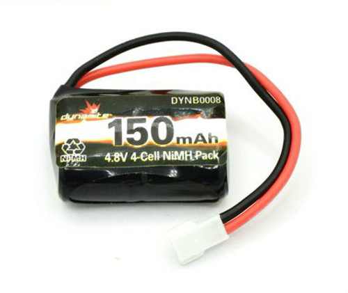 Dynamite 1/24 4WD Temper 4-Cell NiMh Battery (4.8V/150mAh)