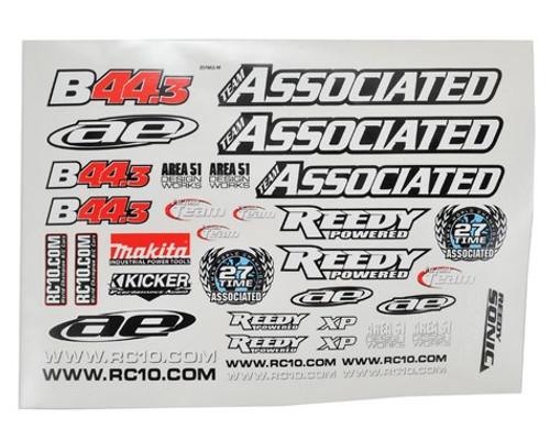 Team Associated FT B44.3 Decal Sheet (ASC9958)