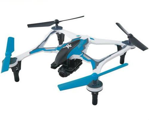 Dromida XL 370 FPV RTF Micro Electric Quadcopter Drone (Blue)