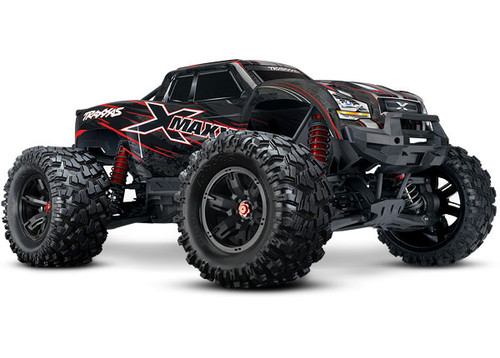 Traxxas X-Maxx 8S 4WD Brushless RTR Monster Truck (Red) w/2.4GHz TQi Radio & TSM