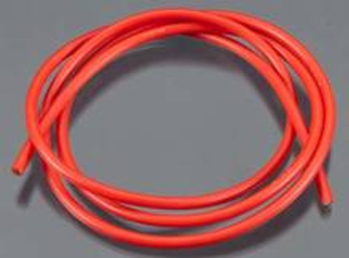 TQ Wire 13awg Silicone Wire (3')(Red) (TQ1334) Extremely flexible and only 3.5mm overall diameter
