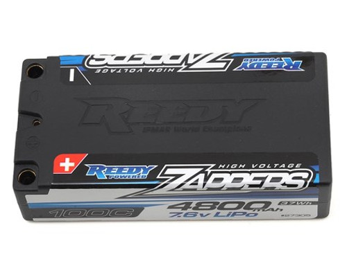 Reedy Zappers HV 2S Hard Case LiPo 100C Shorty Battery (7.6V/4800mAh) (ASC27305