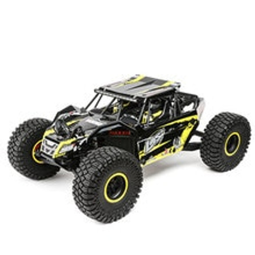 Losi Rock Rey 1/10 4WD RTR Electric Rock Racer (Yellow) w/2.4GHz Radio & AVC (LOS03009T1)