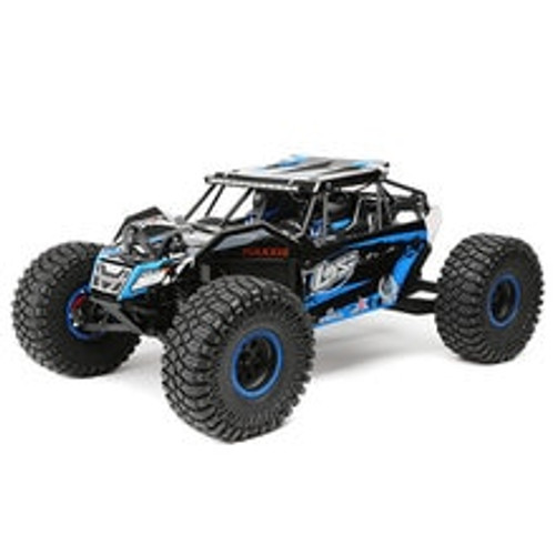 Losi Rock Rey 1/10 4WD RTR Electric Rock Racer (Blue) w/2.4GHz Radio & AVC (LOS03009T2)