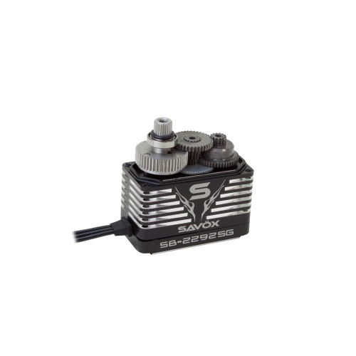 Savox SB-2292SG Black Edition Monster Torque Brushless Steel Gear Servo (High Voltage)