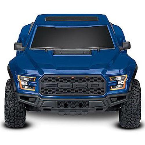 Traxxas 2017 Ford Raptor RTR Slash 1/10 2WD Truck (Blue) w/TQ 2.4GHz Radio, Battery & DC Charger