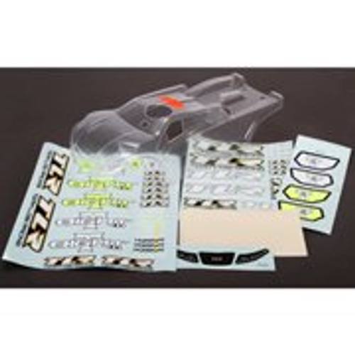 Team Losi Racing 8IGHT-T 4.0 & 3.0 Truggy Body Set (Clear)
