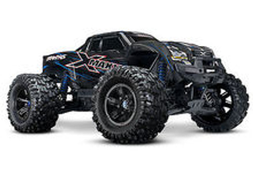 Traxxas X-Maxx 8S 4WD Brushless RTR Monster Truck (Red) w/2.4GHz TQi Radio & TSM (TRA77086-4-BLU)