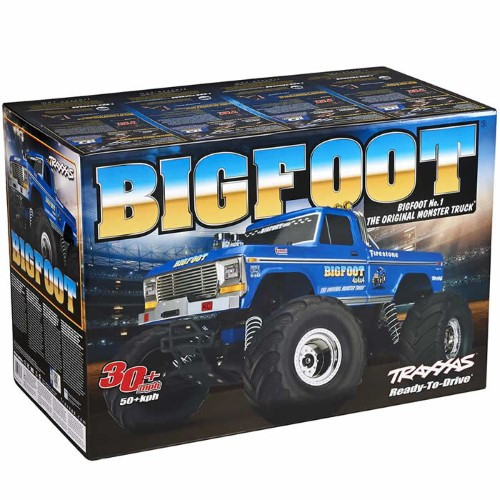 "Traxxas ""Bigfoot No.1"" Original Monster RTR 1/10 2WD Monster Truck (Flame Paint)"