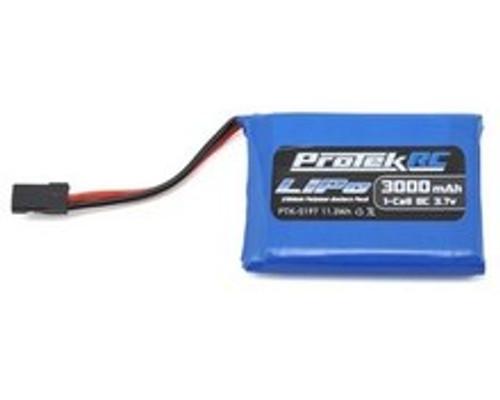 ProTek RC 1S LiPo Transmitter Battery Pack (3.7V/3000mAh) (Sanwa MT-44) (PTK-5197)
