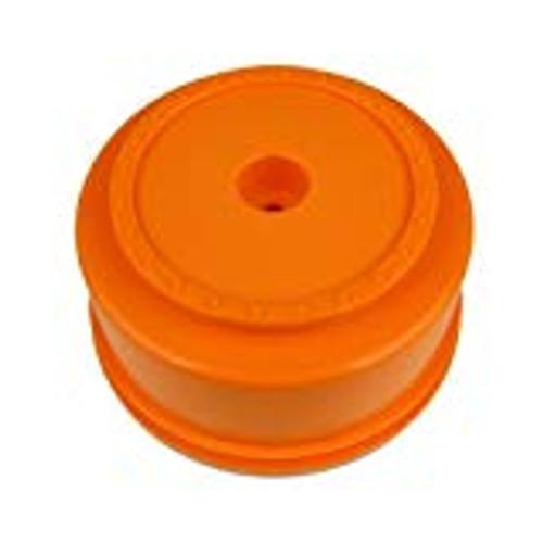 "DE Racing 12mm Hex ""Borrego"" Short Course Wheels w/3mm Offset (Orange) (2) (SC5M)"