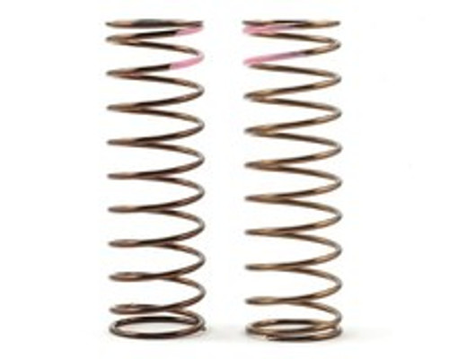 Tekno Low Frequency 75mm Front Shock Spring Set (Pink - 3.82lb/in) (TKR8764)