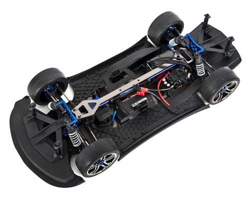 Traxxas XO-1 1/7 RTR Electric 4WD On-Road Sedan (Blue) w/2.4GHz TQi Radio, TSM & Link Wireless Module
