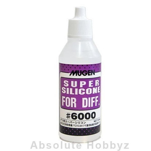 Mugen Seiki Silicone Differential Oil (50ml) (6,000cst) (MUGB0350)