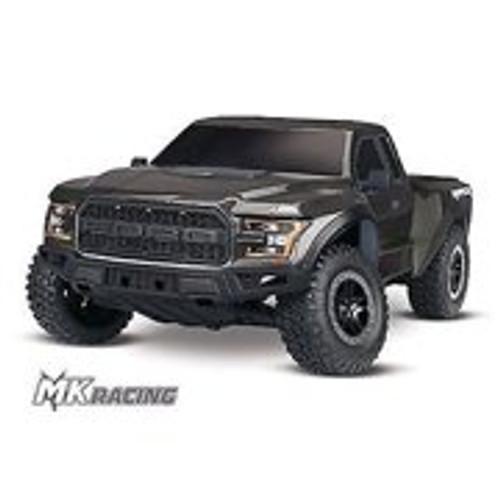 Traxxas 2017 Ford Raptor RTR Slash 1/10 2WD Truck (Black) w/TQ 2.4GHz Radio, Battery & DC Charger