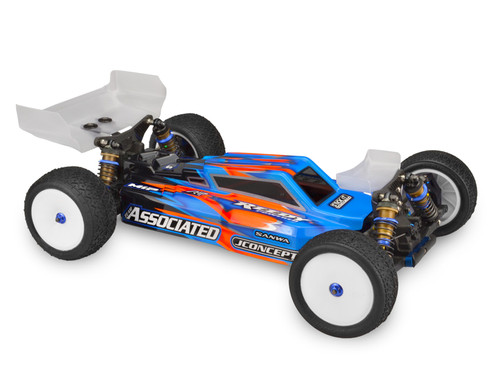 "JConcepts B64/B64D ""F2"" Body w/Aero Wing (Clear)"