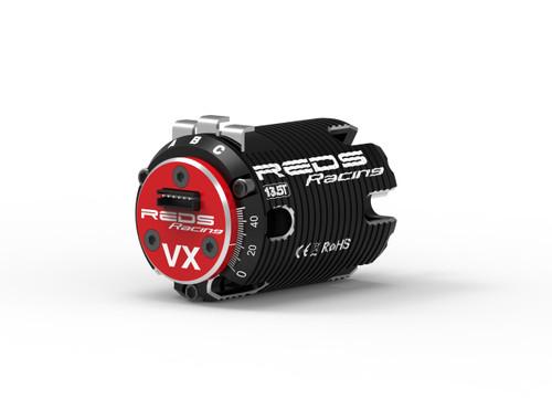 REDS 13.5T HIGH Torque - 1/10 Brushless Motor VX 540 2 Pole Sensored (MTTE0012C)